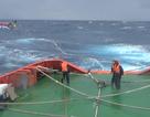 Chưa thể tiếp cận 14 ngư dân gặp nạn trên biển vì sóng lớn