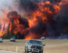 Thành phố của Canada nhìn từ vệ tinh trước và sau cháy rừng khủng khiếp