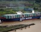 Tàu hàng Trung Quốc đâm vào cổng của kênh đào Panama