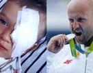 Vận động viên Olympic bán đấu giá huy chương để giúp cậu bé bị ung thư