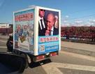 Dân buôn Trung Quốc làm giàu từ hình ảnh của Tổng thống Putin