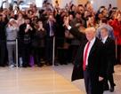 """Những lần """"chạm mặt"""" báo chí hiếm hoi của ông Trump sau khi đắc cử"""