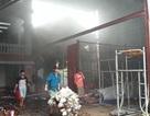 Cháy kho hàng hóa, thiệt hại hàng trăm triệu đồng