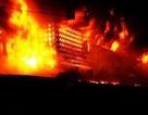 Cháy chợ trong đêm, thiệt hại gần 2 tỉ đồng