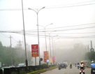 Sương mù dày đặc kéo dài phủ khắp Quảng Bình
