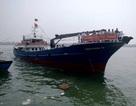 Bàn giao tàu hậu cần nghề cá vỏ thép hiện đại