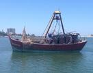 Trục vớt thành công tàu cá bị chìm trên biển