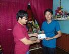 Quỹ Nhân ái tiếp tục chia sẻ cùng gia đình có người gặp nạn trong bão số 4