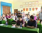 Đoàn công tác liên Bộ đối thoại với ngư dân về việc bồi thường