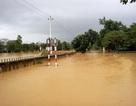 Hình ảnh nhiều làng mạc ở Quảng Bình chìm trong nước lũ