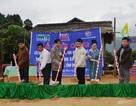 Niềm vui ngày khởi công xây dựng phòng học Dân trí tại Quảng Bình