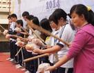 Học trò đập heo đất ủng hộ 30 triệu xây trường ở Trường Sa