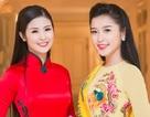 Hoa hậu Ngọc Hân hội ngộ Á hậu Huyền My tại Hà Nội