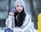 Thúy Hằng và khoảnh khắc đẹp giữa mùa đông Moscow