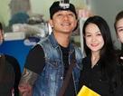 Tuấn Hưng cùng vợ đi du xuân tại chùa Hương
