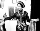 Lý Nhã Kỳ diện áo dài phong cách Hoàng hậu Nam Phương tới Pháp