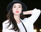 Người đẹp Vũ Ngọc Anh quyến rũ tại sân bay