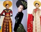 """Những bộ áo dài Việt gây """"choáng ngợp"""" thế giới"""