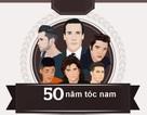 Nhìn lại 50 năm phong cách tóc nam