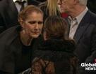 Celine Dion bật khóc bên linh cữu chồng