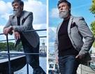 Vẻ lịch lãm của cụ ông theo đuổi nghề người mẫu ở tuổi… 60