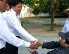 Thí sinh ngồi xe lăn được nhận vào ngành CNTT ĐH Vinh