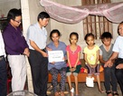 Hơn 350 triệu đồng đến với gia đình chị Bùi Thị Hưng