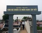 Khánh thành khu nghĩa trang cán bộ chiến sĩ miền Nam tập kết