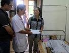 Quỹ Vòng tay đồng đội đến với anh Nguyễn Đình Trung