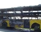 Xe khách bốc cháy, tài xế nỗ lực cứu 40 hành khách