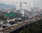 Hà Nội: Ô tô kẹt cứng hàng kilomet ở đường trên cao