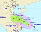 Áp thấp nhiệt đới tiến gần bờ biển Quảng Nam – Phú Yên