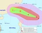 Xuất hiện cơn bão mạnh giật cấp 14 gần Biển Đông