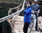 """Xã """"đu dây vượt sông"""" giữa thủ đô Hà Nội"""