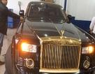"""Cận cảnh Rolls Royce mạ vàng """"độc nhất vô nhị"""" ở Việt Nam"""