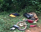 Bốn học sinh trên 1 xe máy thương vong vì đâm vào máy cày