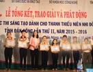 Nhiều học sinh dân tộc thiểu số đạt giải cao trong cuộc thi sáng tạo trẻ