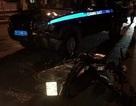 Xe Cảnh sát 113 bị tố chạy lấn làn tông chết người