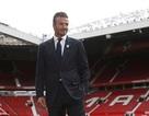 David Beckham trở lại Old Trafford