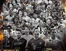Công bố 55 đề cử đội hình tiêu biểu FIFA 2015