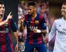 Messi, C.Ronaldo, Neymar: Ai xứng đáng lên ngôi?