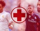 """""""Cơn bão chấn thương"""" đang hành hạ Real Madrid"""