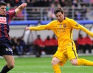 Messi lập kỷ lục, bộ ba Messi-Suarez-Neymar cán mốc 100 bàn