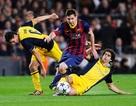 Lượt đi vòng tứ kết Champions League: Barcelona gặp hiểm nguy