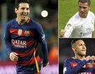 10 cầu thủ kiếm nhiều tiền giỏi nhất: Messi chiếm ngôi đầu