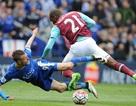 Tranh cãi quanh việc Jamie Vardy bị đuổi ở trận gặp West Ham