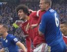 Giật cùi chỏ cầu thủ Leicester, Fellaini sẽ bị treo giò hết mùa?