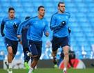 C.Ronaldo trở lại tập luyện, sẵn sàng ra sân trước Man City