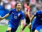 Luka Modric đi vào lịch sử nhờ siêu phẩm