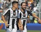 Higuain bùng nổ, Juventus xây chắc ngôi đầu bảng